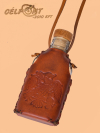 Díszített Pálinkás Üveg Nyakba Akasztható